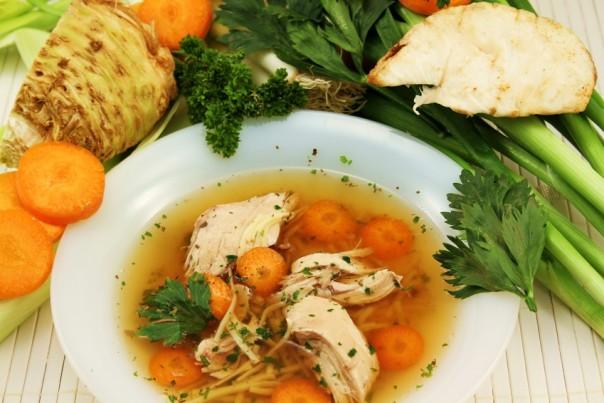 Bestellung Suppenhühner
