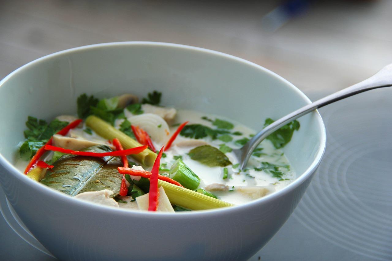 Tom Kha Gai – Thailändische Hühnersuppe