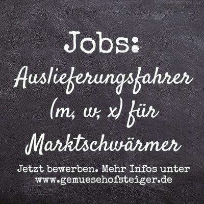 Jobs Marktschwärmer
